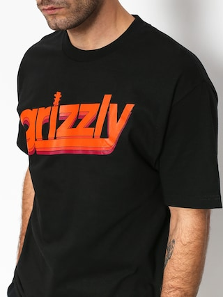 T-shirt Grizzly Griptape Fast Times (black)