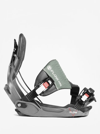 Wiązania snowboardowe Flow Five Hybrid (space grey)