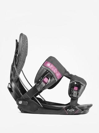 Wiązania snowboardowe Flow Minx (black)