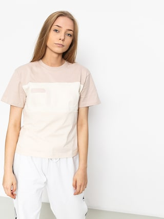 T-shirt Fila Allison Wmn (pink tint/eggfrog/mushroom)