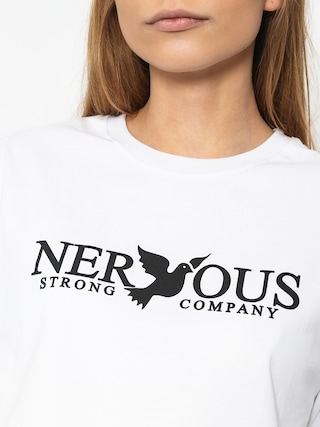 T-shirt Nervous Classic Wmn (white)