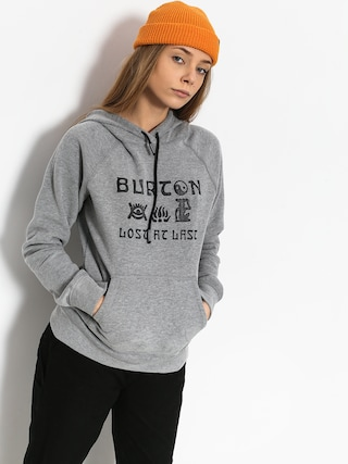 Bluza z kapturem Burton Lingate HD Wmn (gray heather)
