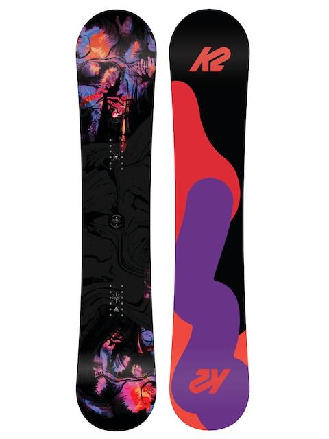 Deska snowboardowa K2 First Lite Wmn (black/orange/pink)