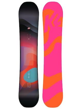 Deska snowboardowa K2 Bright Lite Wmn (pink/orange)