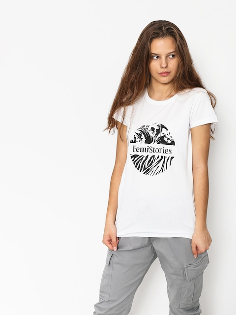 T-shirt Femi Stories Tulip Wmn (wht)