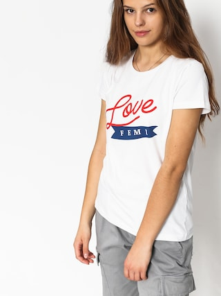 T-shirt Femi Stories Pako Wmn (wht)