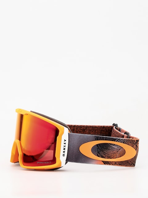 Gogle Oakley Line Miner (mystic flow neon orange/prizm snow torch iridium)