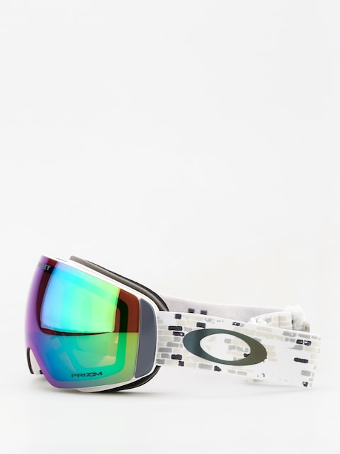 Gogle Oakley Flight Deck Xm (lv sig snowed in stealth/prizm snow jade iridium)