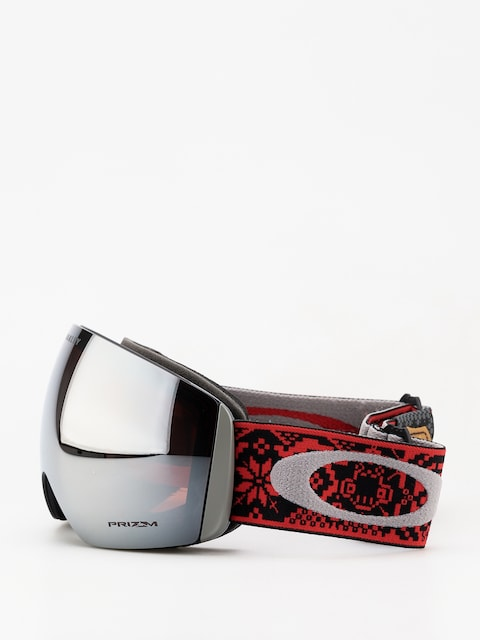 Gogle Oakley Flight Deck (shred bots iron rose/prizm snow black iridium)
