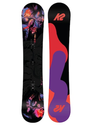 Deska snowboardowa K2 First Lite Wmn (black/orange/pink)
