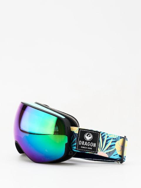 Gogle Dragon X2s (aloha/lumalens green ion/lumalens amber)