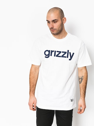 T-shirt Grizzly Griptape Lowercase Tee (white)