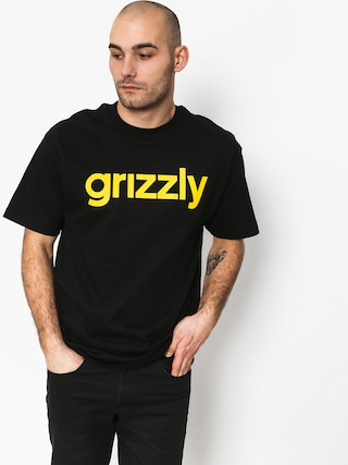 T-shirt Grizzly Griptape Lowercase Tee (black)