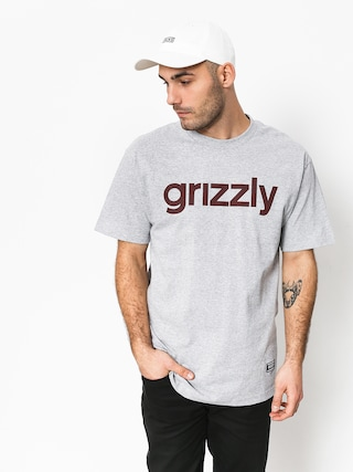 T-shirt Grizzly Griptape Lowercase Tee (grey)