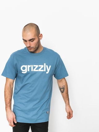 T-shirt Grizzly Griptape Lowercase Tee (royal)