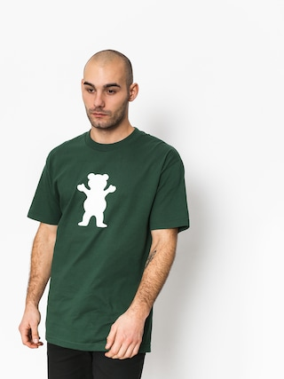 T-shirt Grizzly Griptape Og Bear Basic Tee (green)