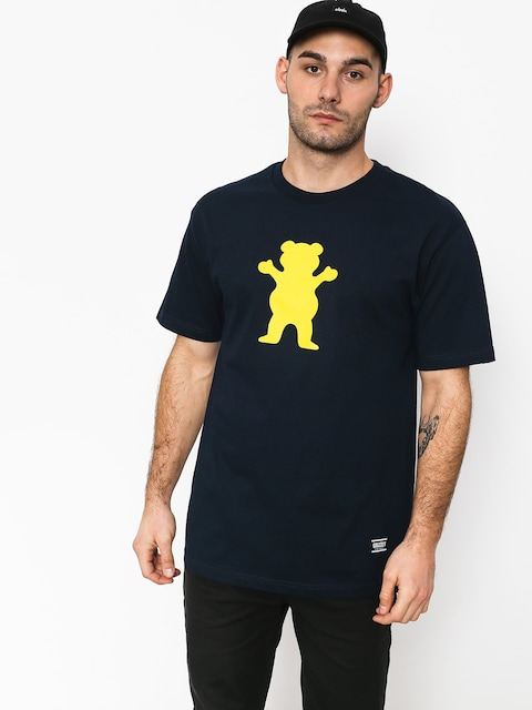 T-shirt Grizzly Griptape Og Bear Basic Tee (navy)