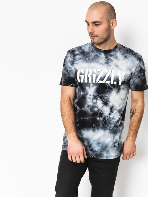 T-shirt Grizzly Griptape Storm Front Tie-Dye