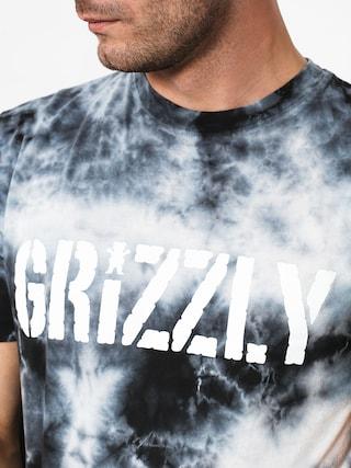 T-shirt Grizzly Griptape Storm Front Tie-Dye (tie dye)