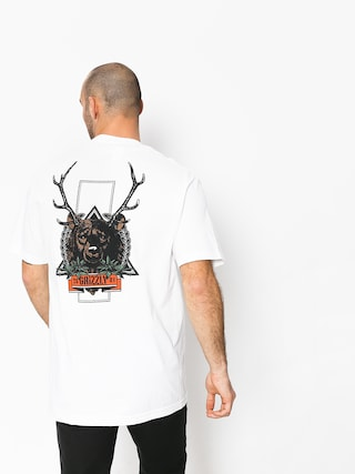 T-shirt Grizzly Griptape Fear The Deer (white)