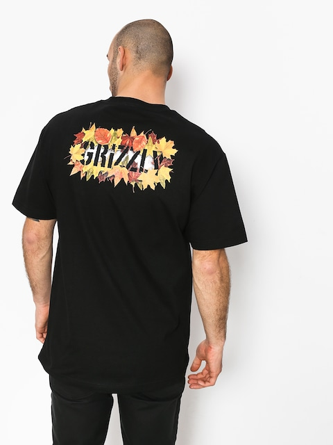 T-shirt Grizzly Griptape Seasonal Stamp (black)