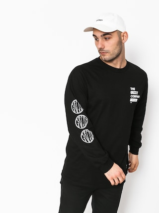 Longsleeve Grizzly Griptape Locomotive (black)