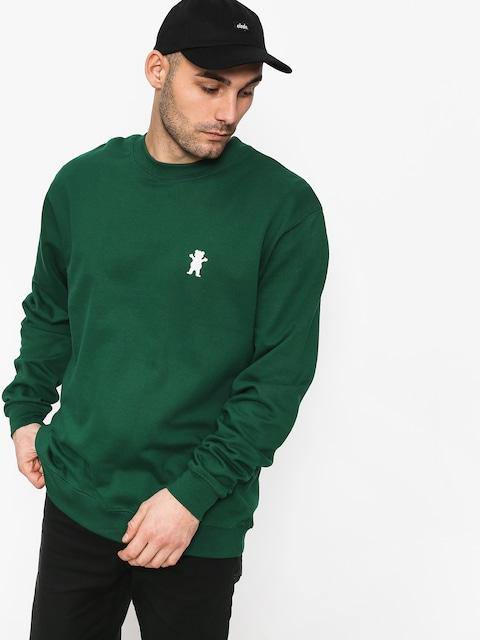 Bluza z kapturem Grizzly Griptape Og Bear Emb (green)