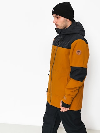 Kurtka snowboardowa Quiksilver Arrow Wood (golden brown)