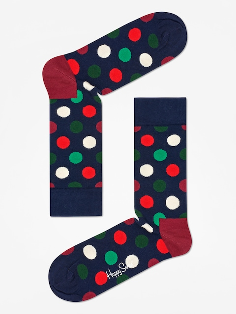 Skarpetki Happy Socks Big  Dot (navy)