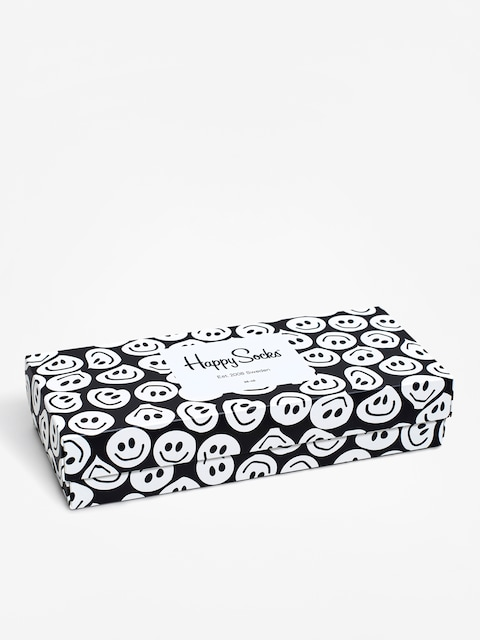 Skarpetki Happy Socks Giftbox 4Pak (black/white)