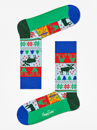 Skarpetki Happy Socks Giftbox 3Pak (blue/red/white)