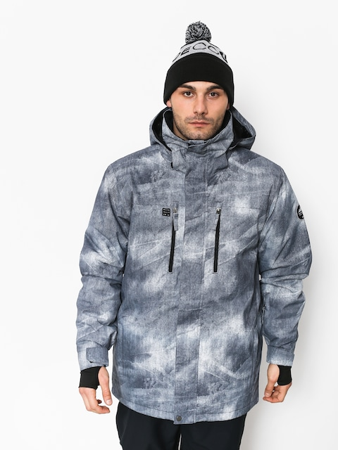 Kurtka snowboardowa Quiksilver Mission Pr (simple texture grey)