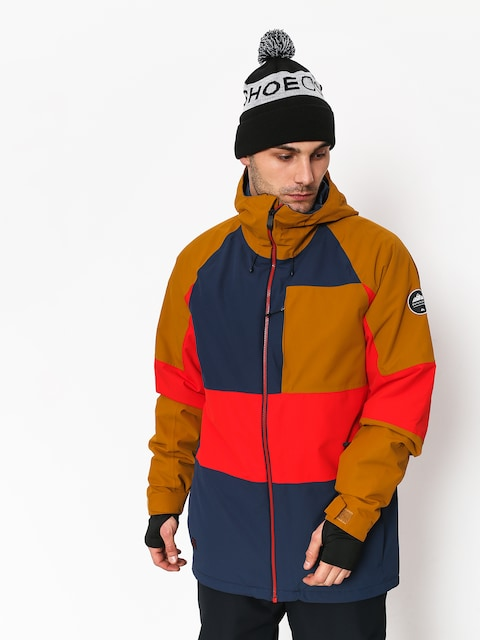 Kurtka snowboardowa Quiksilver Sycamore (dress blues)