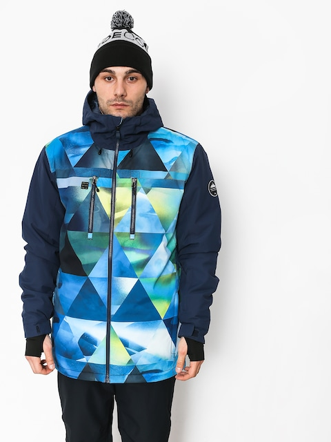 Kurtka snowboardowa Quiksilver Mission Blck (stretch the un green)