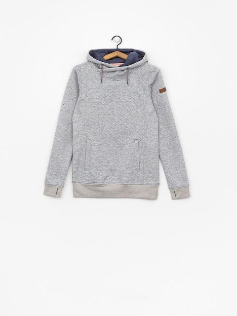 Bluza z kapturem Roxy Dispy HD Wmn (warm heather grey)