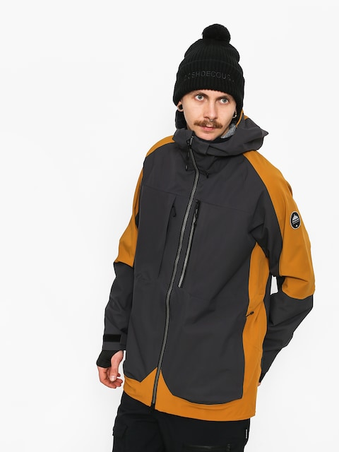 Kurtka snowboardowa Quiksilver Travis Rice Stretch (golden brown)
