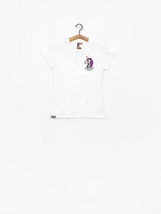 T-shirt Stoprocent Unicorn Wmn (white)