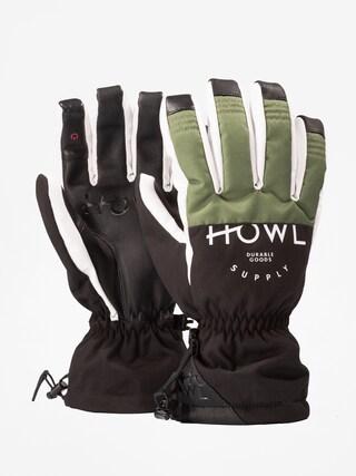 Ru0119kawice Howl Team Glove (olive)