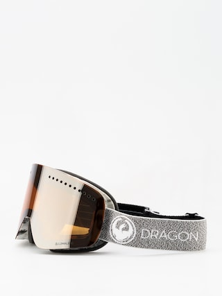 Gogle Dragon NFX (mill/lumalnes silver ion/dark smoke)