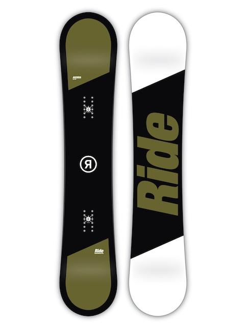 Deska snowboardowa Ride Agenda (black/green/white)