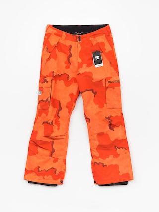 Spodnie snowboardowe DC Banshee (red orange dcu camo)