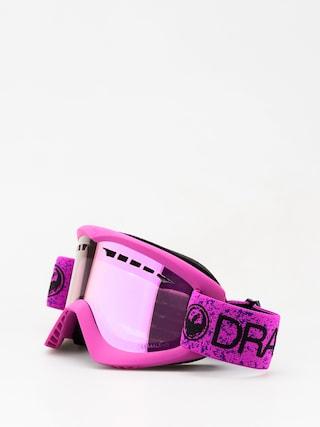 Gogle Dragon DX (violet/lumalens pink ion)