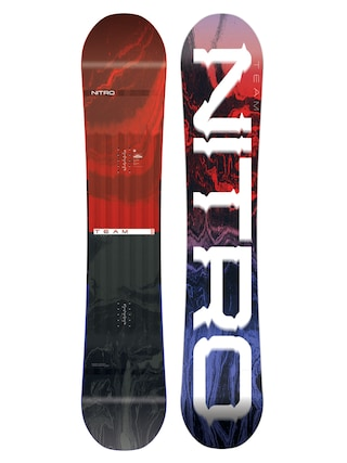 Deska snowboardowa Nitro Team Wide Gullwing (multi)