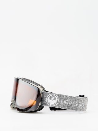 Gogle Dragon NFX2 (mill/lumalens silver ion/dark smoke)