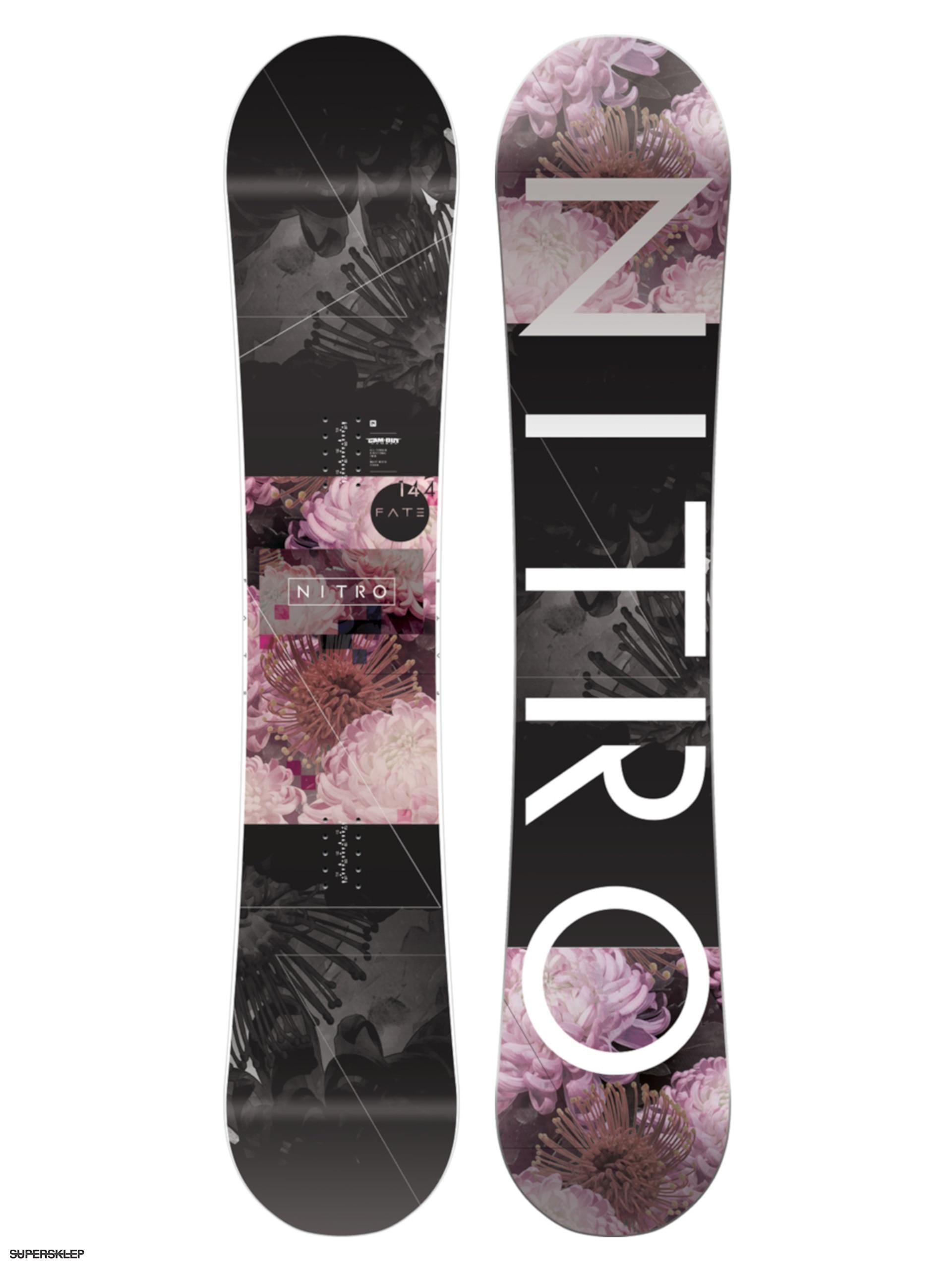 Deska snowboardowa Nitro Fate Wmn (multi) 639731bbee