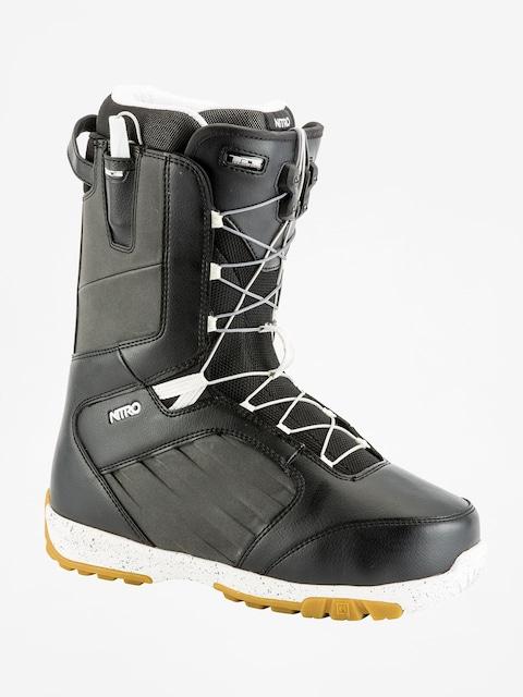 Buty snowboardowe Nitro Anthem TLS (black white)