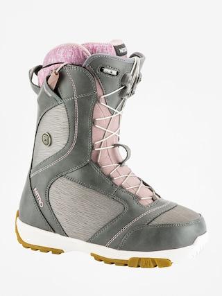 Buty snowboardowe Nitro Monarch TLS Wmn (grey)