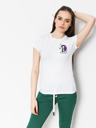 T-shirt Stoprocent Unicorn Wmn (white)