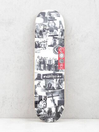 Deck Foundation Oddity Collage (black/white)