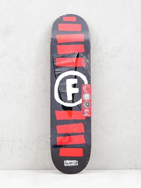 Deck Foundation Doodle Stripe (black)